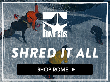 Shred it all. Shop Rome.