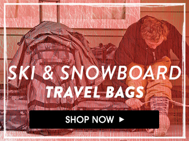Ski and snowboard travel bags. Shop Now.