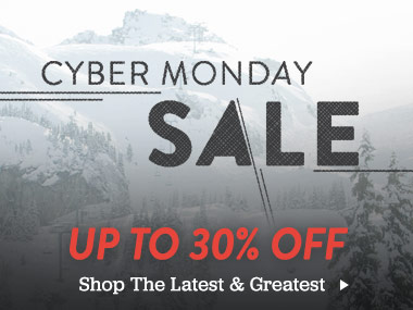 Cyber Monday Sale. Up To 30% Off The Latest and Greatest.