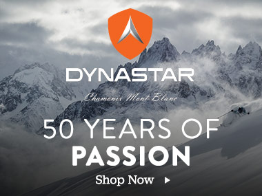 Dynastar. 50 years of passion. Shop Now.