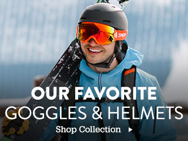 Our Favorite Goggles & Helmets. Shop Collection.
