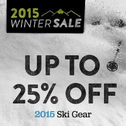 Up To 25% Off 2015 Ski Gear.