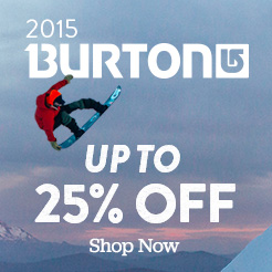 2015 Burton up to 25% off! Shop Now.