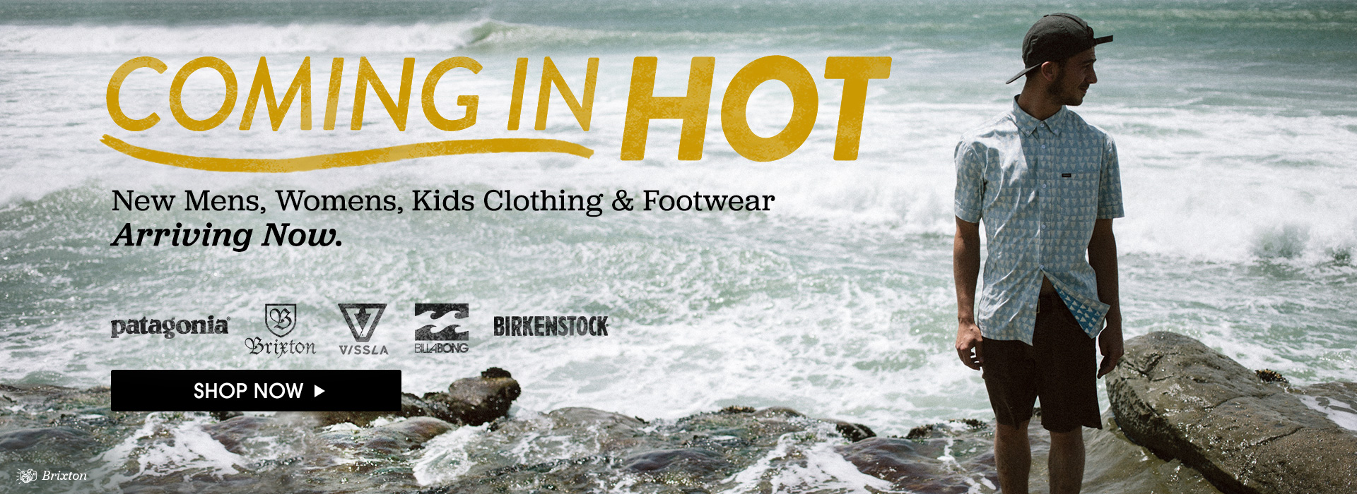 Coming In Hot. New Mens, Womens, Kids Clothing and Footwear Arriving Now.