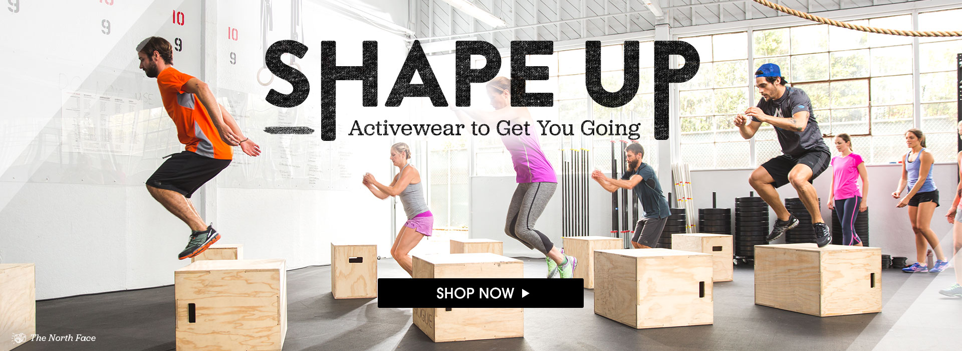 Shape Up. Activewear to Get You Going. Shop Now.