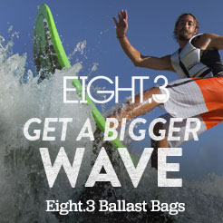 Get A Bigger Wave. Eight.3 Ballast Bags.