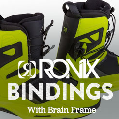 Ronix Bindings With Brain Frame.