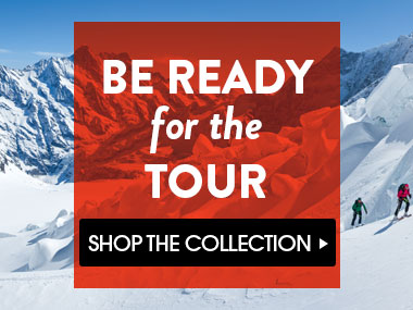 Be Ready For The Tour. Backcountry Ski and Backcountry Snowboard.