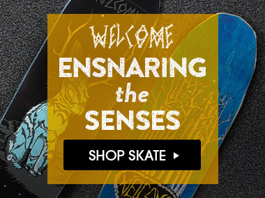 Ensnaring The Senses. Featuring Welcome Skate.
