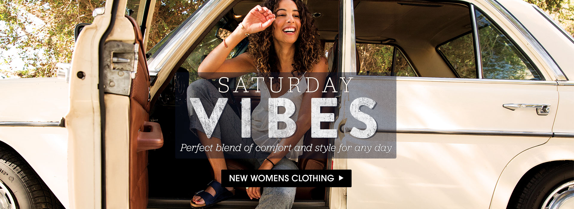 Saturday Vibes. Shop new women's clothing.