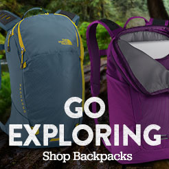 Go Exploring. Shop Backpacks.