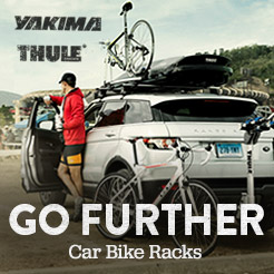 Go Further. Car Bike Racks.