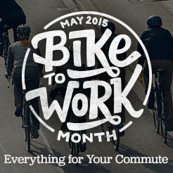 Get Ready For Bike to Work Month. Everything for Your Commute. Shop Now.