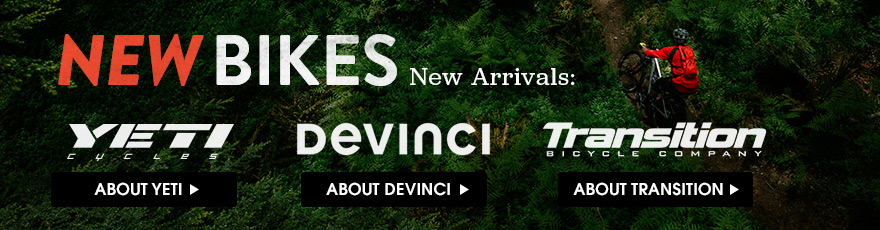 New Bikes! New Arrivals from Devinci and Transition.