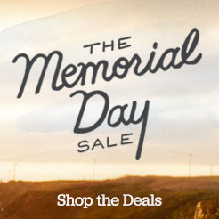 Memorial Day Sale. Shop the Deals.