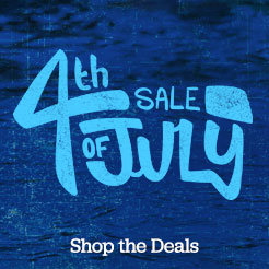 4th of July Sale. Up To 40% Off. Sitewide Deals.