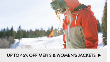 Up to 45% Off Men's and Women's Jackets