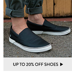 Up to 20% Off Shoes