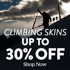 Climbing Skins. Up to 30% Off. Shop Now.