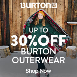 Up to 30% Off Burton Outerwear. Shop Now.