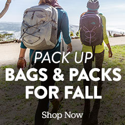 New bags and packs for fall. Shop now.