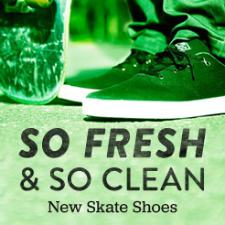 So Fresh and So Clean. Shop New Skate Shoes.