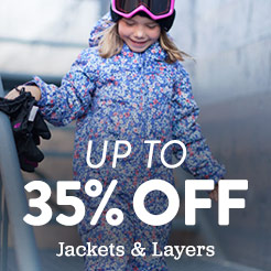 Up to 30% Off Jackets and Layers. Shop Now.