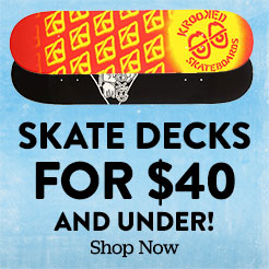 Skate decks for $40. Shop Now.