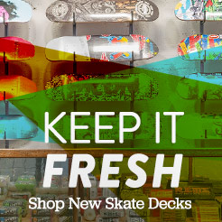 Keep it Fresh with New Skate Decks