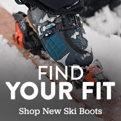 Find your fit. Shop new ski boots.