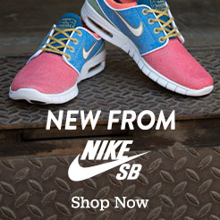 New from NikeSB. Featuring the Nike SB x Concepts Stained Glass Janoski Max QS.