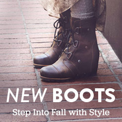 New Arrivals. Mens and Women's New Boots