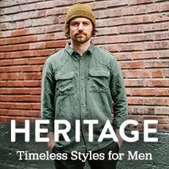 Heritage - Classic Brands and Timeless Styles