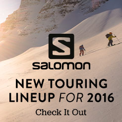 Salomon's New Touring Lineup for 2016
