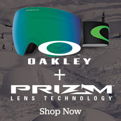 Oakley with Prizm Lens Technology