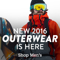 New 2016 outerwear is here. Shop Men's.