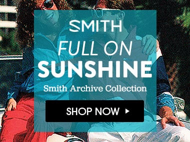 Full On Sunshine. Archive Collection. Shop Smith Now.