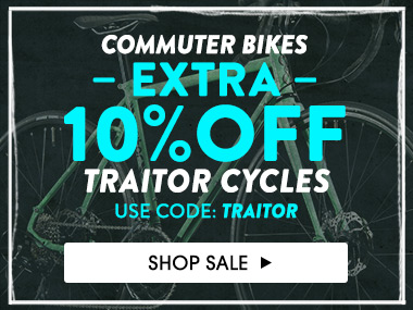 Commuter Bikes Extra 10% off Traitor Cycles. Use Code: TRAITOR. Shop Sale.
