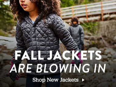 Fall Jackets are Blowing In. Shop New Jackets.