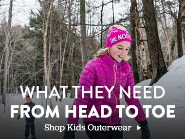 What they need from head to toe. Shop Kids Outerwear.
