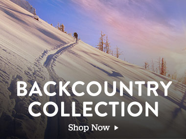 Backcountry Collection. Shop Now.