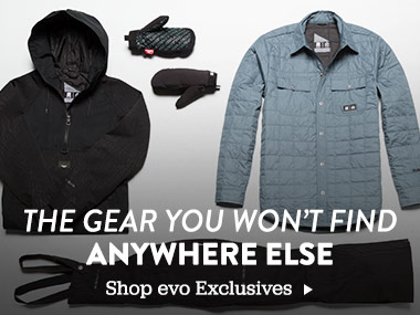 The Gear You Won't Find Anywhere Else. Shop evo Exclusives.