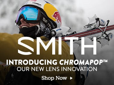 Smith Introducing Chromapop. Our New Lens Innovation. Shop Now.