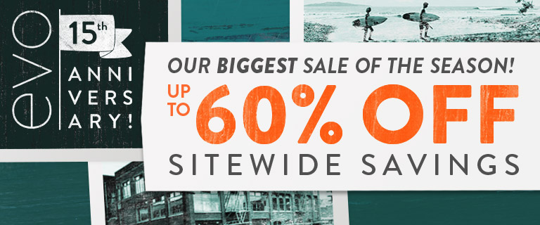Our Biggest Sale of the Season! Up to 60% Off Sitewide Savings. Shop Anniversary Sale.