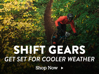 Shift Gears. Get Set For Cooler Weather. Shop Now.