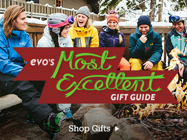 evo's most excellent gift guide. Shop gifts.