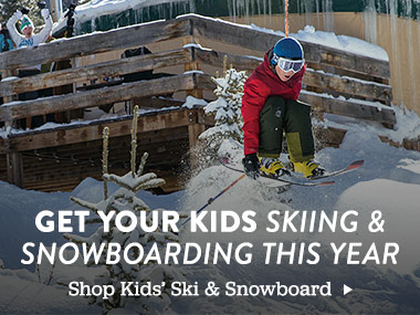 Get Your Kids Skiing and Snowboarding This Year. Shop Kids' Ski and Snowboard