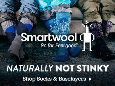 Smartwool. Natually Not Stinky. Shop Socks and Baselayers.