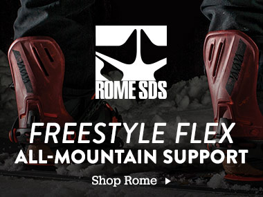 Rome. Freestyle Flex. All-Mountain Support. Shop Rome.