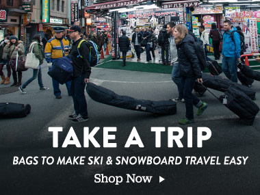 Take a Trip. Bags to make ski and snowboard travel easy. Shop Now.